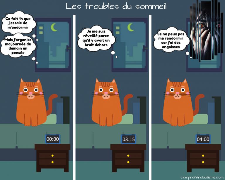 Le projet Chatounets : les troubles du sommeil