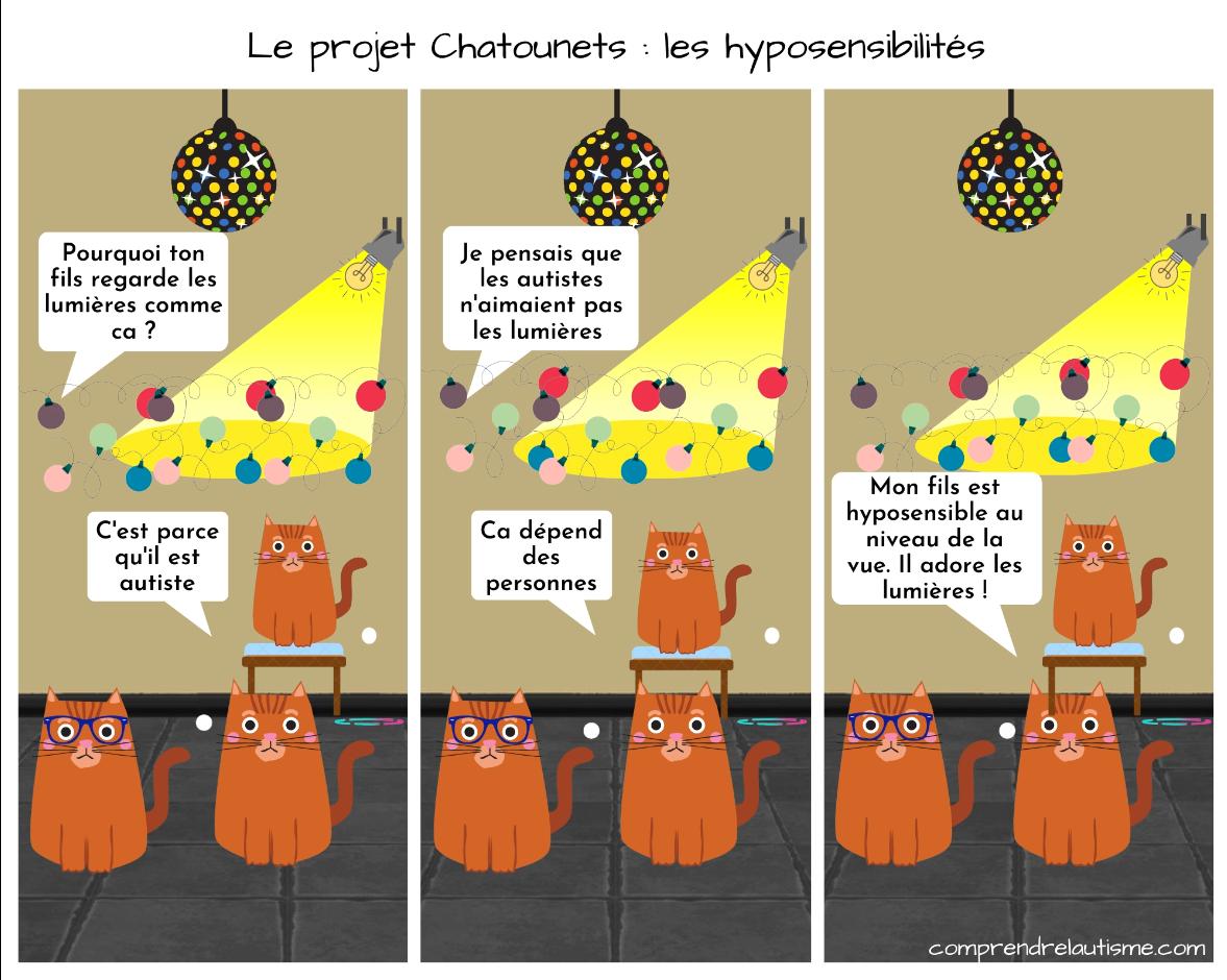 Le projet Chatounets : les hyposensibilités